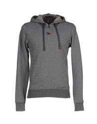 Eleventy Topwear Sweatshirts Men Grey