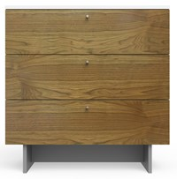 Spot On Square Roh Dresser 34 Wide White Walnut Multicolor