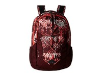 The North Face Women's Jester Deep Garnet Red Ethnique Print Deep Garnet Red Backpack Bags