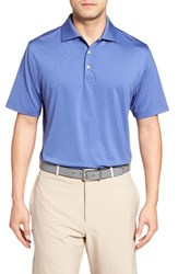 Peter Millar Men's Moisture Wicking Stretch Jersey Polo Ink