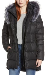 The North Face Hey Mama Water Repellent 550 Fill Power Down Parka With Faux Fur Trim Black
