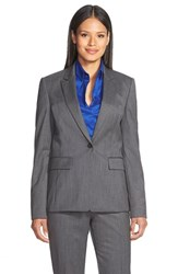 Women's Boss 'Juicyna' Plaid Wool Blazer