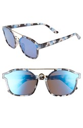 Leith Women's Eve Bank 57Mm Mirrored Sunglasses
