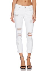 James Jeans Neo Beau Slouchy Fit Boyfriend Destroyed White