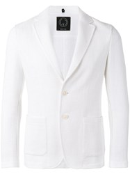 Tonello Basketweave Blazer White