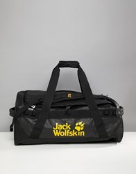 Jack Wolfskin Expedition 65 Holdall In Black