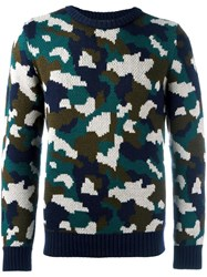 Lc23 Camouflage Pattern Jumper