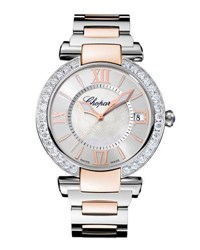 Chopard Imperial Two Tone 40Mm Watch With Diamonds