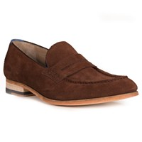 Oliver Sweeney Penny Loafers Chocolate