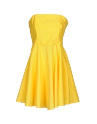 Shi 4 Short Dresses Yellow