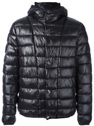 Paolo Pecora Hooded Padded Jacket Black