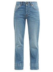 Raey Hand Me Down Straight Leg Jeans Blue