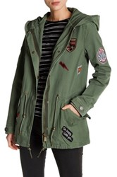 Bagatelle Patch Field Jacket Green