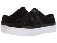 Huf Hupper 2 Lo Black Black White Skate Shoes