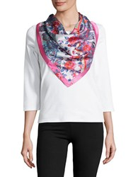 Collection 18 Patterned Scarf Pink