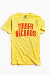 Urban Outfitters Tower Vintage Stack Tee Gold