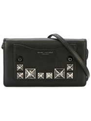 Marc Jacobs Studded Crossbody Bag Black
