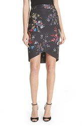 Ted Baker 'S London Opulent Fauna Pencil Skirt Black