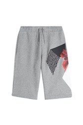 Mcq By Alexander Mcqueen Mcq Alexander Mcqueen Cotton Blend Shorts Grey