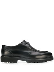 Doucal's Parabout Cleated Sole Shoes Black