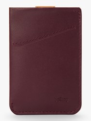 Bellroy Leather Card Sleeve Wallet Red