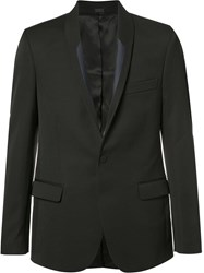 Stella Mccartney Shawl Lapel Blazer Black