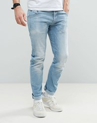 G Star Beraw Arc 3D Tapered Jean Light Aged Wash Light Aged Blue