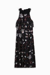 Giamba Women S Eye Printed Dress Boutique1 Black