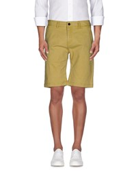 Selected Homme Trousers Bermuda Shorts Men Yellow