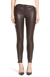 Women's Cj By Cookie Johnson 'Wisdom' Reptile Texture Skinny Ponte Pants Chocolate