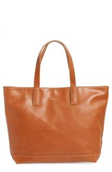 Matt And Nat 'Schlepp' Faux Leather Tote Brown Chili