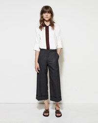 Marni Cropped Fresco Trouser Anthracite
