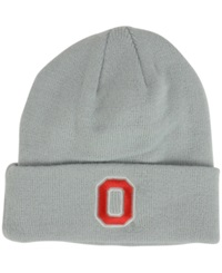 Top Of The World Ohio State Buckeyes Campus Cuff Knit Hat Gray