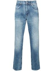 Hudson Sartor Relaxed Skinny Jeans Blue