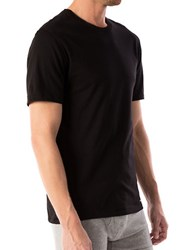 Michael Kors Short Sleeve Cotton Tee Black