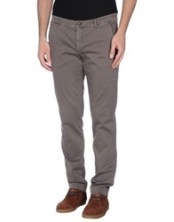 Gold Case By Rocco Fraioli Casual Pants Grey