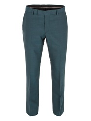 Alexandre Savile Row Plain Weave Tail Trousers Green