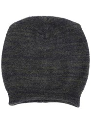 Lainey Keogh Ribbed Beanie Green