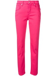 Cambio Slim Fit Jeans Pink