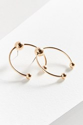 Urban Outfitters Birmingham Statement Hoop Earring Gold