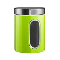 Wesco Kitchen Storage Canister With Window Lime Green