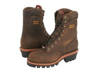 Chippewa 9 Waterproof Insulated Super Logger Bay Apache Work Boots Brown
