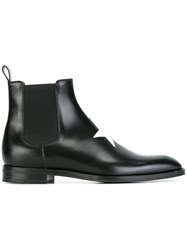 Givenchy Star Patch Ankle Boots Black