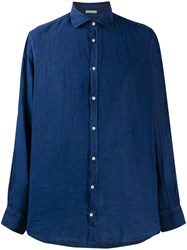 Massimo Alba Linen Long Sleeve Shirt 60