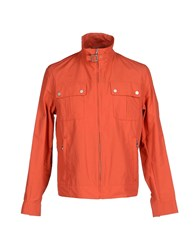Aquascutum London Aquascutum Coats And Jackets Jackets Men Orange