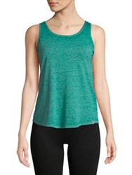 Marc New York Crisscross Strappy Tank Top Teal