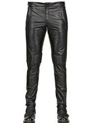 Filippo Fanini 17Cm Nappa Leather Biker Trousers
