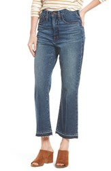 Madewell Women's Retro Crop Bootcut Jeans
