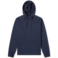 Folk Rivet Popover Hoody Blue