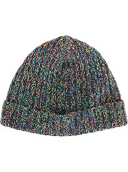 Ymc Ribbed Beanie Multicolour
